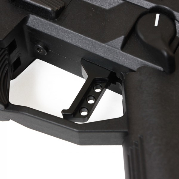 HB Industries Scorpion Theta Black-Trigger-Installed