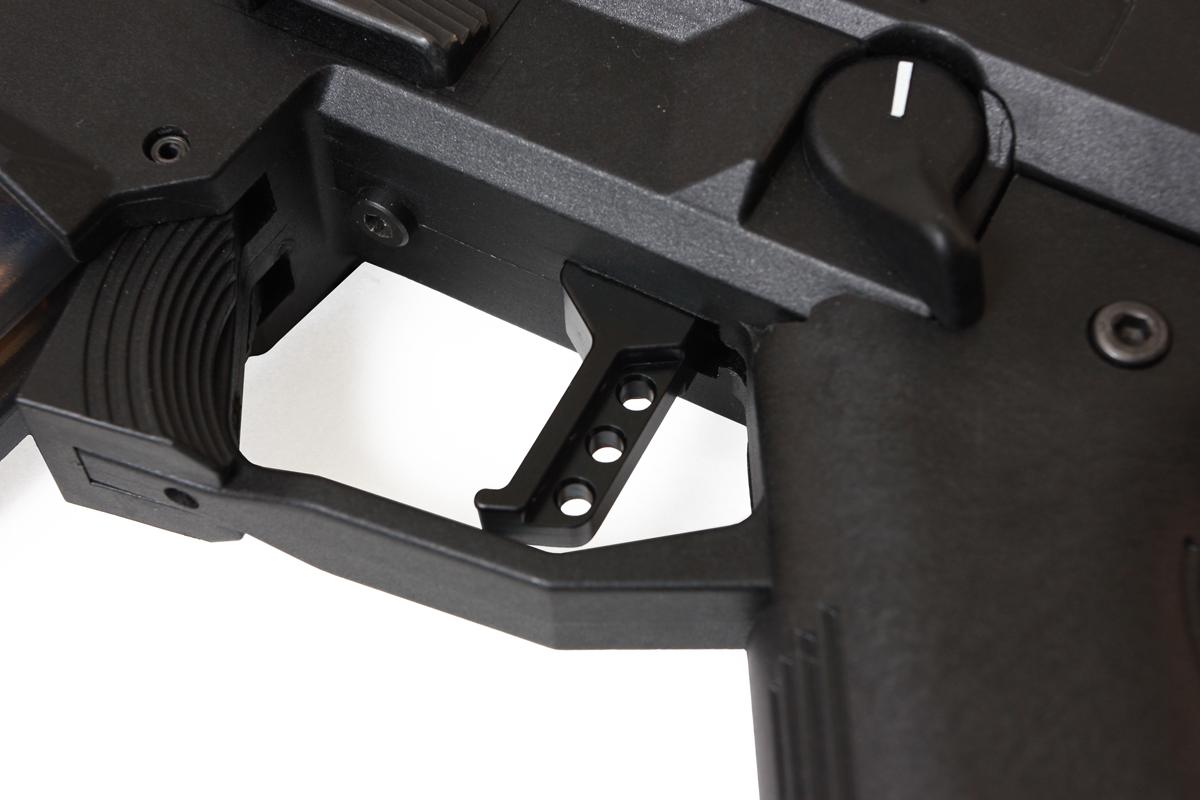 HB Industries Scorpion Theta Black-Trigger-Installed