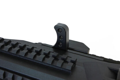 Scorpion Theta Charging Handle-installed-Black