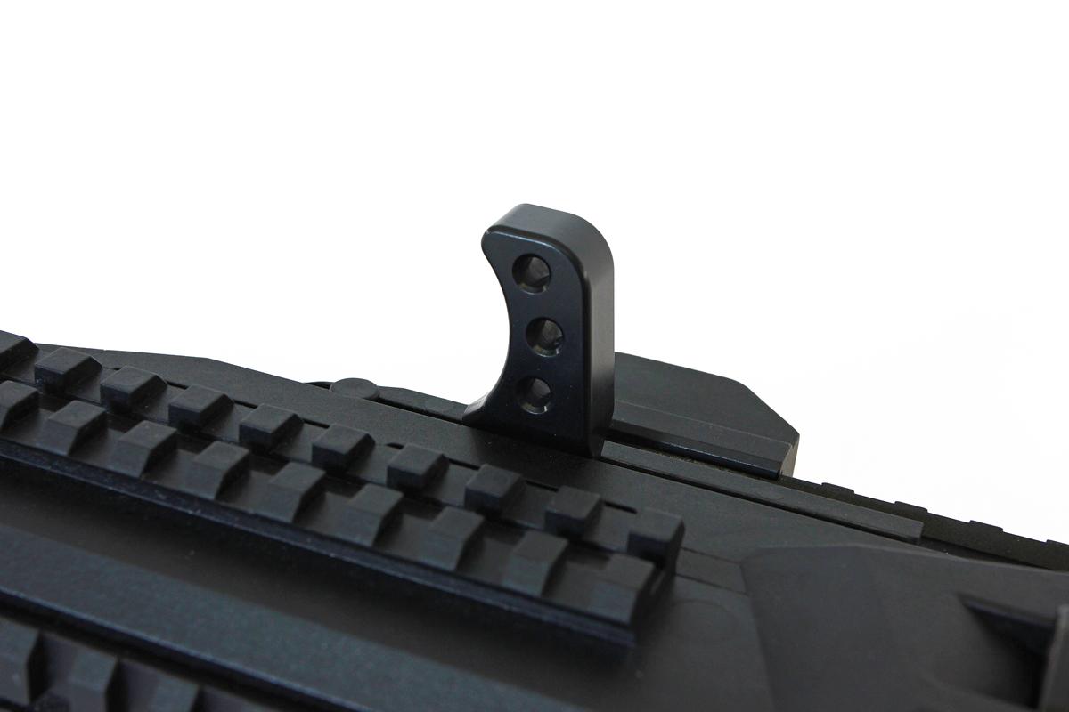 Scorpion Theta Charging Handle-installed-Black