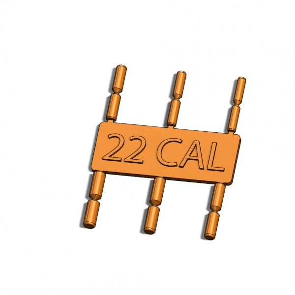 HBI Gas Block Alignment Tool, 22CAL, Front