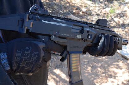 HBI Scorpion EVO Magazine Release CZ HB Industries