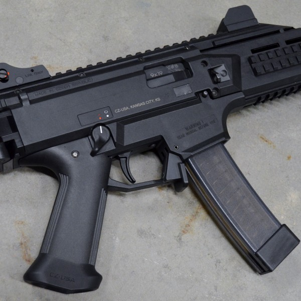 HBI Paddle Magazine Release for CZ Scorpion