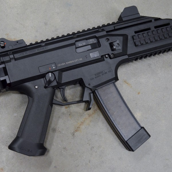 HBI Duckbill Magazine Release for CZ Scorpion