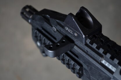 HBI THETA EXTENDED CHARGING HANDLE CZ SCORPION BLACK