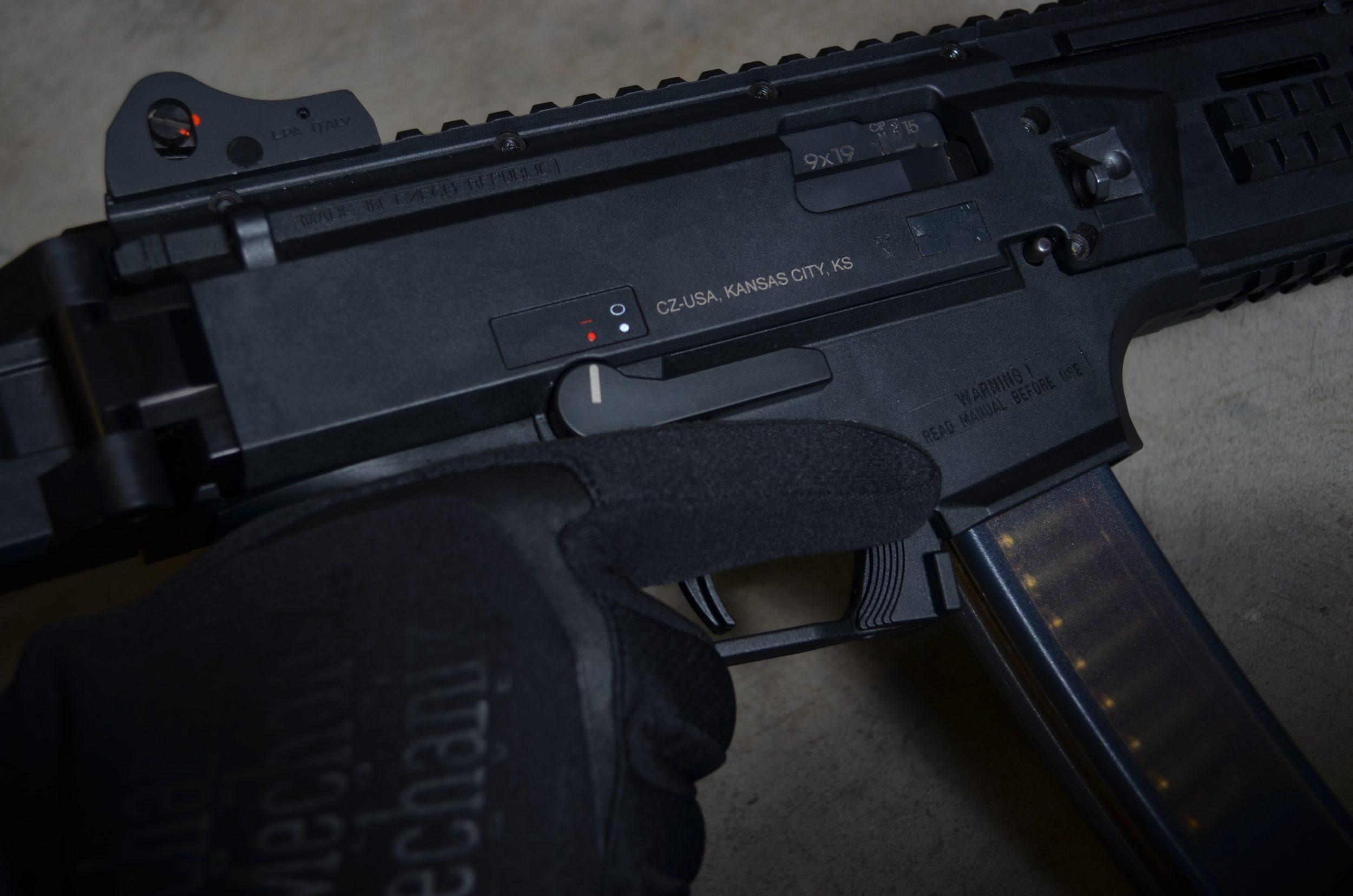 CZ Scorpion EVO3 AK Style Safety Selector