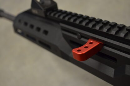 hbi scorpion carbine charging handle theta red