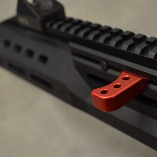 hbi scorpion carbine charging handle theta red