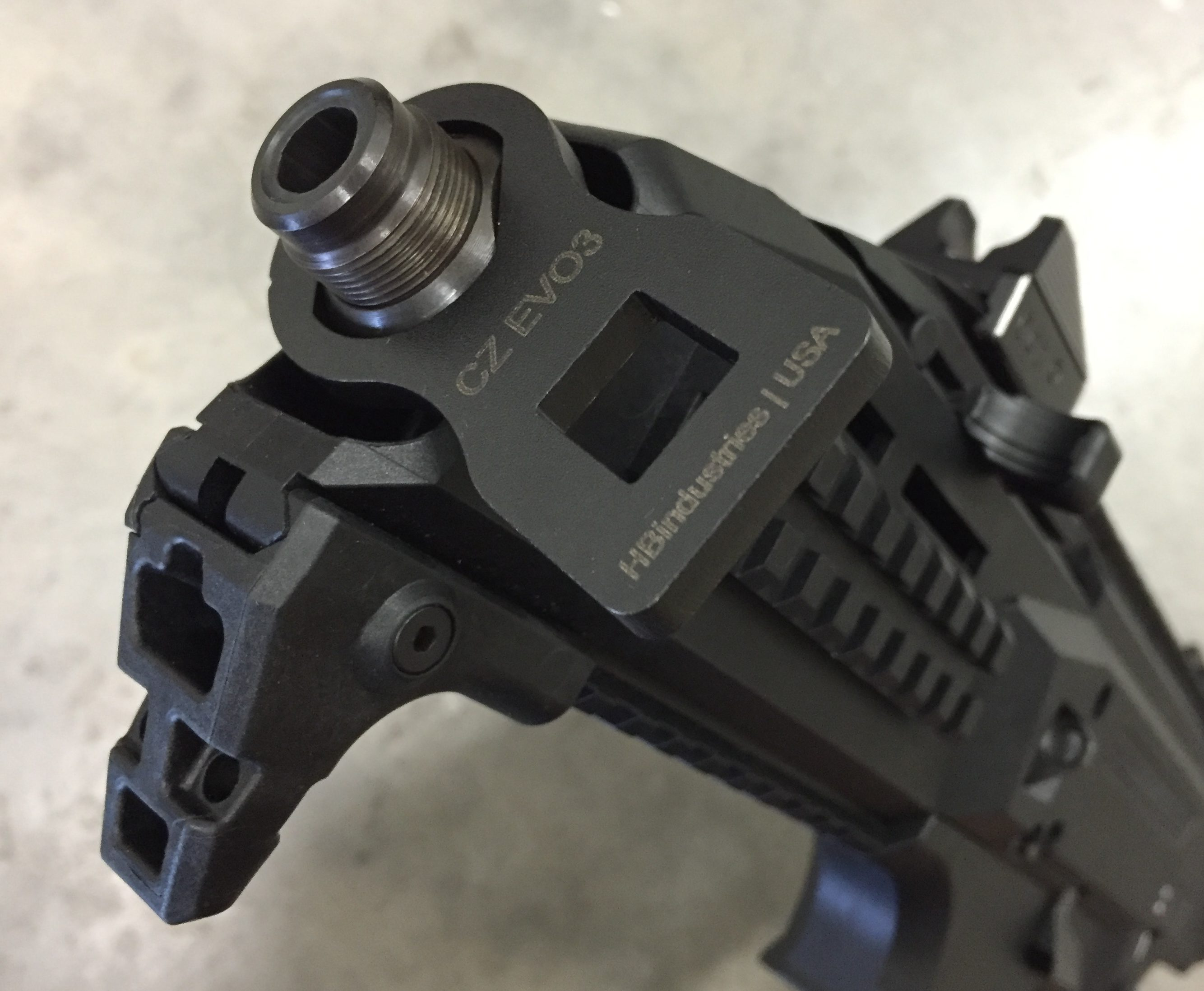 CZ Scorpion Barrel Nut Wrench Tool HBI