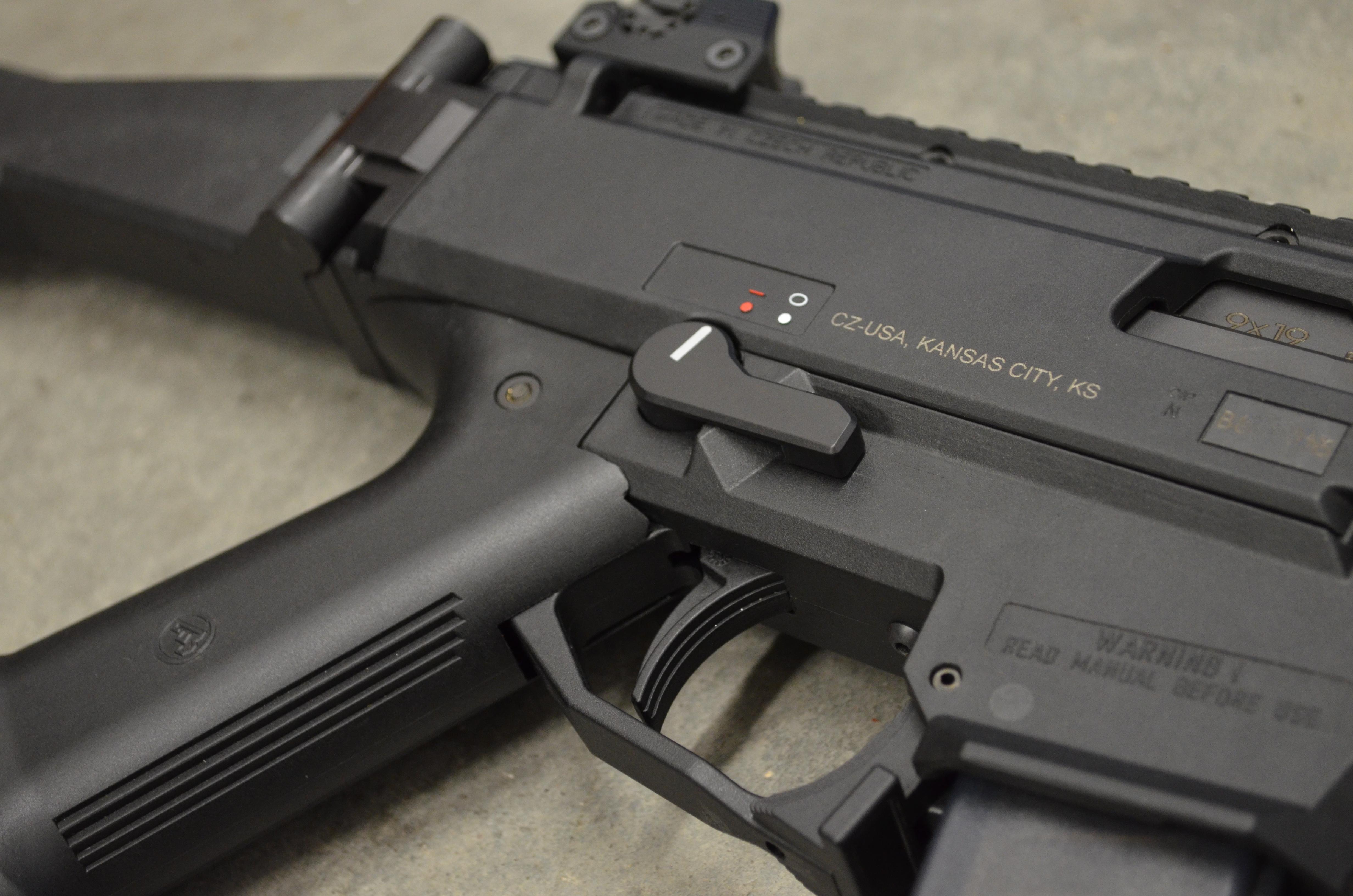 CZ Scorpion Mini AK Style Safety Selectors
