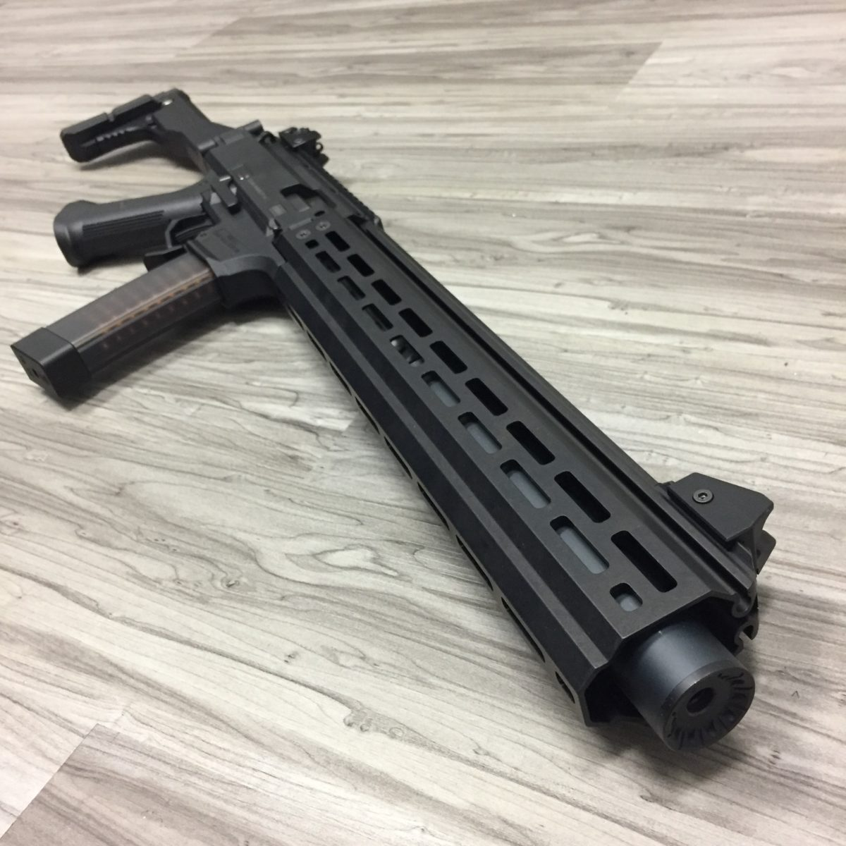 "HBI 15"" Scorpion Evo Handguard Front"