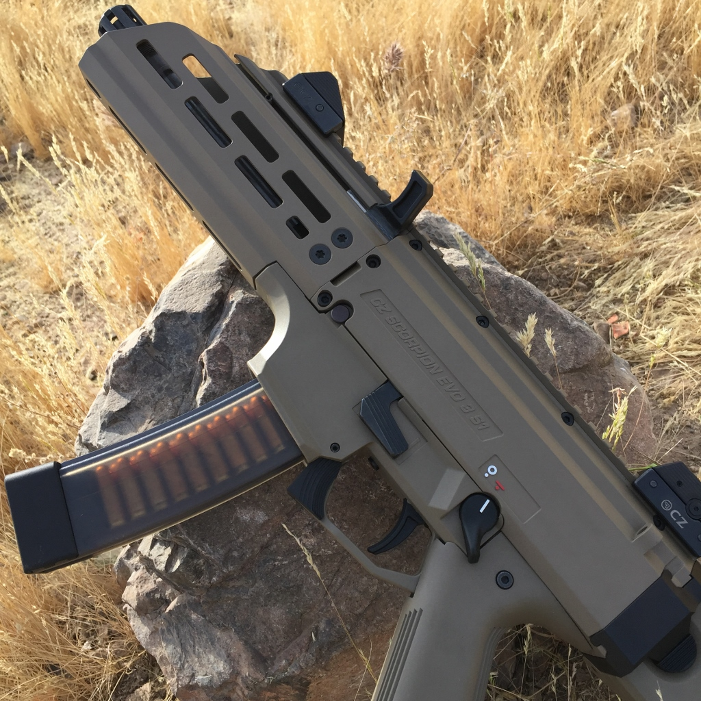 CZ Scorpion MLOK Handguards