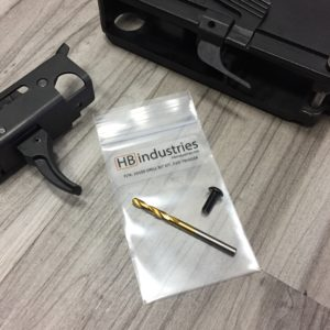 HBI SCORPION WELDED TRIGGER DRILL BIT KIT