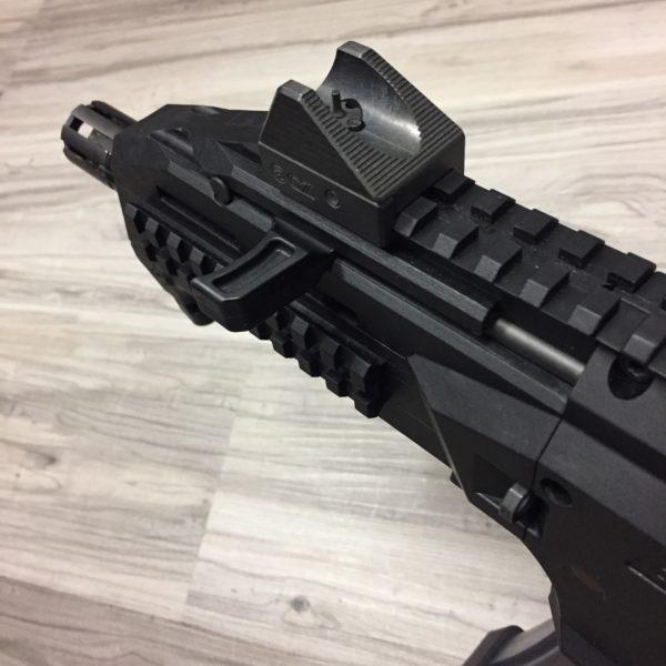HBI Scorpion Evo ProStock Charging Handle, Close Battery
