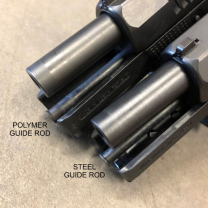 CZ P10 Steel Recoil Guide Rod Assembly_Compare to Poly