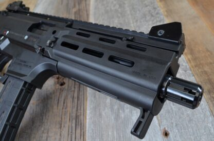 HBI CZ SCORPION PAKSE SAPPER HANDGUARD_BLACK_ISO CLOSE