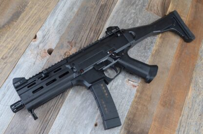 HBI CZ SCORPION PAKSE SAPPER HANDGUARD_BLACK_ISO LEFT